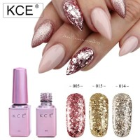 Nail Art KCE Kutek UV Gel / Gel Polish glitter