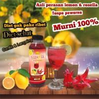 S-LEMOLA/Sari Buah Lemon Murni 100% ASLI+bunga rosella