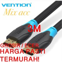 Vention AAC 3M - Kabel HDMI 3M Male to Male - Cabel Hdmi 3 m