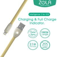 Kabel Data iOS Lightning ZOLA Intelligence2 Auto Power OFF - Gold