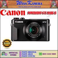Canon G7X Mark II - BLACK - PROSUMMER - RESMI