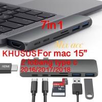 USB Type C Hub to HDMI Adapter Macbook pro USB 3.0 7 in 1