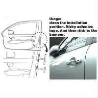 Slim Door Guard Protector Pelindung Pintu Mobil 8 pcs Universal Car Ak
