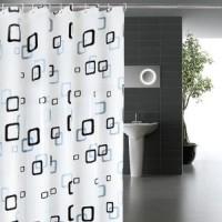 Tirai Shower Kamar Mandi Bathroom Curtain 180cm x 200cm PEVA Motif
