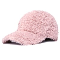 Unisex Warm Plush Adjustable Teddy Poodle Animal Hat Baseball