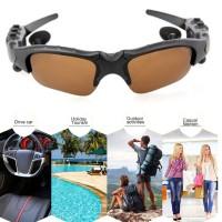 Kacamata Hitam dengan Headset Bluetooth Handsfree Untuk iPhone