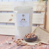 Dijual Natural Almond Meal / Flour ( Tepung Kacang Almond ) 500 Gr