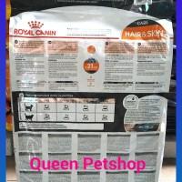 Promo Royal Canin Hair N Skin Repack Uk 500Gr Berkualitas