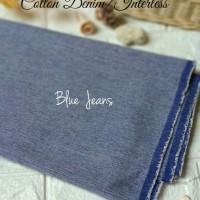 TERMURAH! Kain Cotton Denim/Cotton Interless (Harga per meter)