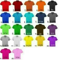 Baju wanita Polo shirt cewek kuning/ Kaos polo wanita/ Kaos seragam