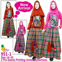 Little pineapple hijabgirl rok 4W mix+tas+jilbab