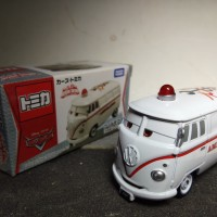 DIECAST TOMICA RESCUE GO GO AMBULANCE CARS