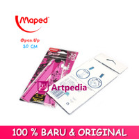 Maped Open Up Ruler Penggaris 15cm to 30cm - Penggaris Maped
