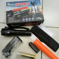 Senter SWAT 99000w / Senter PUBG / Senter Police High Power Flashlight