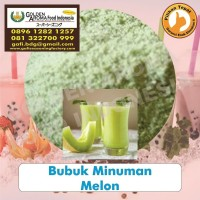Bubuk Minuman Melon 0896-1282-1257 Bubuk Melon Drinking Powder