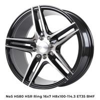 Velg Mobil Murah NE5 H580 HSR Ring 16 Untuk Mobil Nissan March