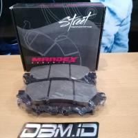MANDEX Brake pad Kampas Rem Fortuner Baru VRZ 2016 + Depan
