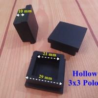 Alas Kaki Kursi Meja Hollow 3x3 Polos