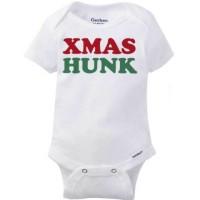 Mommy/'s Little Elf Merry Christmas Gerber Onesie Christmas Gift
