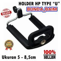 HOLDER U HANDPHONE UNIVERSAL H458 / HOLDER TRIPOD TONGSIS
