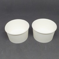 Paper Bowl 12 Oz ( 360 ml ) Hanya Body isi 50 pcs - Putih