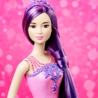 PROMO SPESIAL barbie endless hair purple original mattel