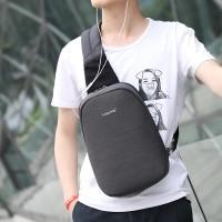 Tas Selempang Sling Bag Anti Maling - T-S8061 - BlackGray
