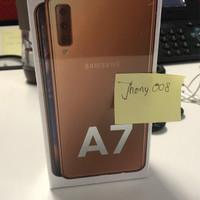 Samsung galaxy A7 2018 garansi SEIN RAM 4GB ROM 64GB not A5 A8 A9 2019