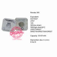 Button Cell - Renata - 395 (SR927SW)