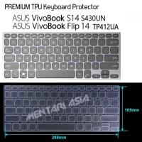 Keyboard Protector ASUS VivoBook S430UN TP412UA - PREMIUM TPU Clear