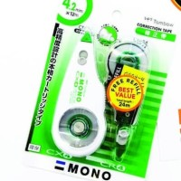 Correction tape 4.2mm x 12M TOMBOW MONO Tipex CT-CX4CR4 free refill