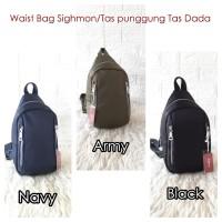 Waist Bag Sighmon/Chibao Tas dada Tas Punggung Unisex