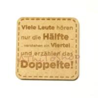 AThiToShop Tempelan Magnet Kulkas Pepatah Bahasa Jerman Souvenir Eropa