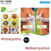 Mosquitno Citronella Stickers Stiker Anti Nyamuk Anak Aman Bebas DEET