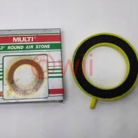 """AIRSTONE ROUND MULTI 3"""" / Pemecah Gelembung Aquarium"""