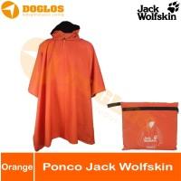 Ponco Jack wolfskin lokal jas hujan JWS raincoat Bivak gunung outdoor