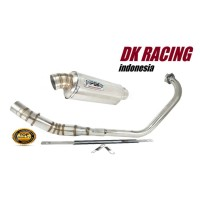 knalpot racing honda new megapro pdk oval high quality