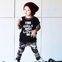 Just Love MAXKENZO Setelan Baju Anak BerKualitas FL-0161-NP
