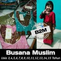 Busana Muslim Anak Long Dress Muslimah Batik Murah FL-1482-NP