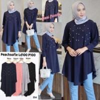 Agen Baju Official Shop UTAMI tunik muslim FL-0310-NP