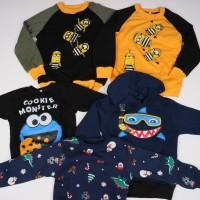 BISA BAYAR TEMPAT Sweater anak pilih gambar via chat FL-2234-NP