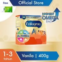 Enfagrow A+3 Susu Formula Vanila 400g Free Dettol Wipes 10S