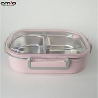🍚Tempat Makan 2 sekat   Lunch box   Katie