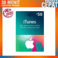 Itunes Gift Card Region US Amerika - $50