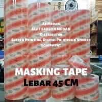 Masking Tape   Transfer Tape MaxDecal 45 Cm   Laminasi Cutting Stiker