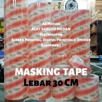 Masking Tape   Transfer Tape MaxDecal 30 Cm   Laminasi Cutting Stiker
