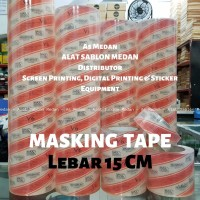 Masking Tape   Transfer Tape MaxDecal 15 Cm   Laminasi Cutting Stiker