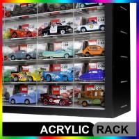 Rak Hotwheels Akrilik Isi 50, Collector Edition Skala 64