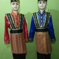 Baju adat Aceh// tari saman anak exclusive Lk/Pr