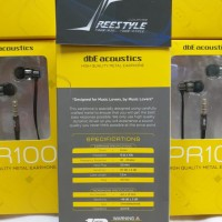dbE Acoustics PR100 / PR-100 / PR 100 Earphone With Microphone